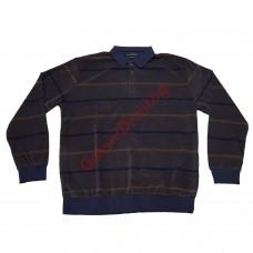 Блуза памук-вискоза 3XL - 4XL - 5XL кафява