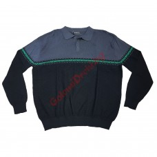 Блуза с яка 100% памук 3XL - 4XL