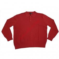 Блуза 100% памук 4XL - 5XL червена