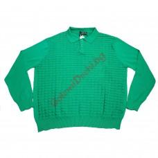 Блуза 100% памук 4XL - 5XL зелена