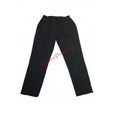 Черно долнище памук-ликра 3XL - 4XL - 5XL - 6XL