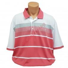 Петцветна тениска с поло яка 3XL - 4XL - 5XL с пластрон