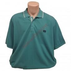 """Тениска с поло яка """"PENYE PIKE"""" 3XL - 4XL - 5XL зелена"""