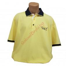 """Тениска с поло яка """"Лимон"""" 3XL - 4XL - 5XL"""