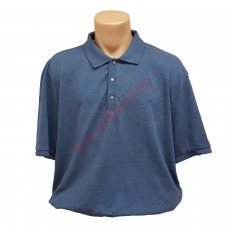Тениска с поло яка 3XL - 4XL - 5XL графит