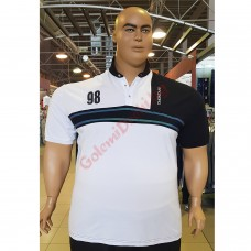 """Тениска с поло яка """"98 T.MONTANA"""" 3XL - 4XL - 5XL - 6XL - 7XL"""