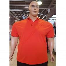 "Тениска с поло яка ""98 TMNT"" 3XL - 4XL - 5XL - 6XL - 7XL оранжева"