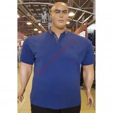 Тениска с поло яка 3XL - 4XL - 5XL - 6XL - 7XL марин