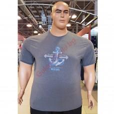 "Тениска ""BARE METAL"" 3XL - 4XL - 5XL - 6XL - 7XL графит"