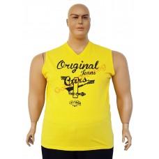 "Тениска без ръкави ""Cars"" 3XL - 4XL - 5XL - 6XL жълта"