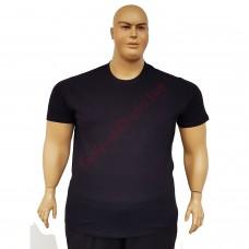 Тениска обикновена 3XL - 4XL - 5XL - 6XL черна