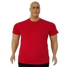 Тениска обикновена 3XL - 4XL - 5XL - 6XL червена