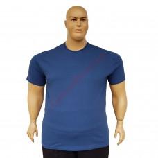 Тениска обикновена 3XL - 4XL - 5XL - 6XL цвят Деним