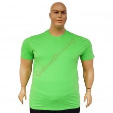 Тениска обикновена 3XL - 4XL - 5XL - 6XL цвят Киви
