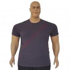Тениска обикновена 3XL - 4XL - 5XL - 6XL графит