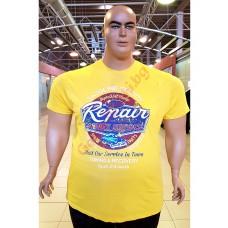 "Тениска ""Auto Repair"" 2XL - 3XL - 4XL - 5XL - 6XL ЖЪЛТА"