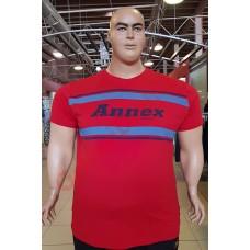 "Тениска ""Annex Jeans"" 2XL - 3XL - 4XL - 5XL - 6XL ЧЕРВЕНА"