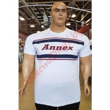 "Тениска ""Annex Jeans"" 2XL - 3XL - 4XL - 5XL - 6XL БЯЛА"
