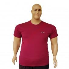 "Тениска ""Big Spencer"" 4XL - 5XL - 6XL - 7XL бордо"
