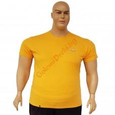 "Тениска ""Big Spencer"" 4XL - 5XL - 6XL - 7XL цвят ГОРЧИЦА"