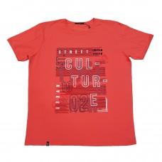 Тениска с надпис 4XL - 5XL сьомга